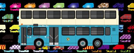 TransPNG.net | 分享世界各地多種交通工具的優秀繪圖 - 巴士 20002S