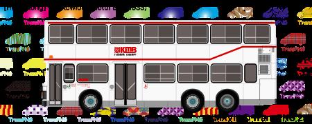 TransPNG.net | 分享世界各地多種交通工具的優秀繪圖 - 巴士 20007S