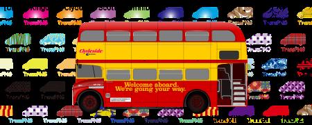 TransPNG.net | 分享世界各地多種交通工具的優秀繪圖 - 巴士 20018S