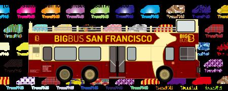 TransPNG.net | 分享世界各地多種交通工具的優秀繪圖 - 巴士 20042S