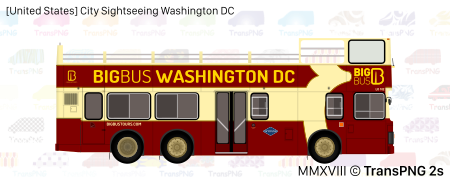 [20043S] City Sightseeing Washington DC 20043S