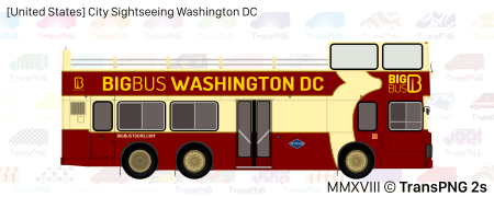 [20046S] City Sightseeing Washington DC 20046S