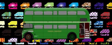 TransPNG.net | 分享世界各地多種交通工具的優秀繪圖 - 巴士 20055S
