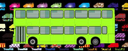 TransPNG.net | 分享世界各地多種交通工具的優秀繪圖 - 巴士 20057S