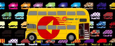 TransPNG.net   分享世界各地多種交通工具的優秀繪圖 - 巴士 20087S