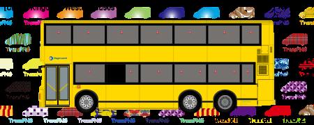 TransPNG.net | 分享世界各地多種交通工具的優秀繪圖 - 巴士 20154S