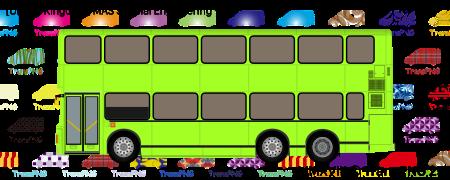 TransPNG.net | 分享世界各地多種交通工具的優秀繪圖 - 巴士 20158S