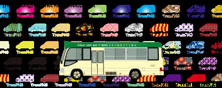 TransPNG.net | 分享世界各地多種交通工具的優秀繪圖 - 巴士 20166S