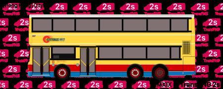 TransPNG.net | 分享世界各地多種交通工具的優秀繪圖 - 巴士 20190S