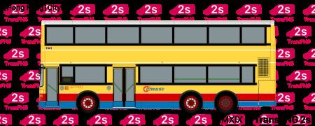 TransPNG.net | 分享世界各地多種交通工具的優秀繪圖 - 巴士 20192S