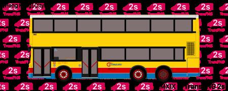 TransPNG.net | 分享世界各地多種交通工具的優秀繪圖 - 巴士 20194S