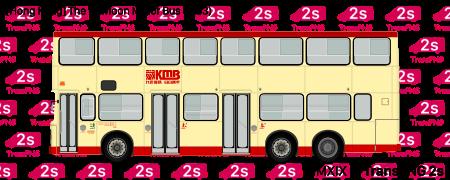[20213S] 九龍巴士(一九三三) 20213S