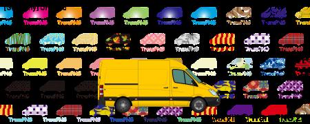 TransPNG.net | 分享世界各地多種交通工具的優秀繪圖 - 貨車 21004S