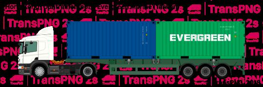 TransPNG.net | 分享世界各地多種交通工具的優秀繪圖 - 貨車 21041S