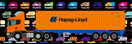 TransPNG.net | 分享世界各地多種交通工具的優秀繪圖 - 貨車 21046S