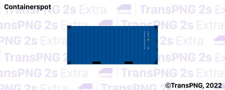 TransPNG.net | 分享世界各地多種交通工具的優秀繪圖 - 貨櫃 C20002S