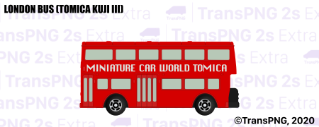 [T20006S] London Bus (Tomica Kuji III) T20006S