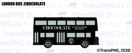 [T20015S] ロンドンバス :CHOCOOLATE T20015S
